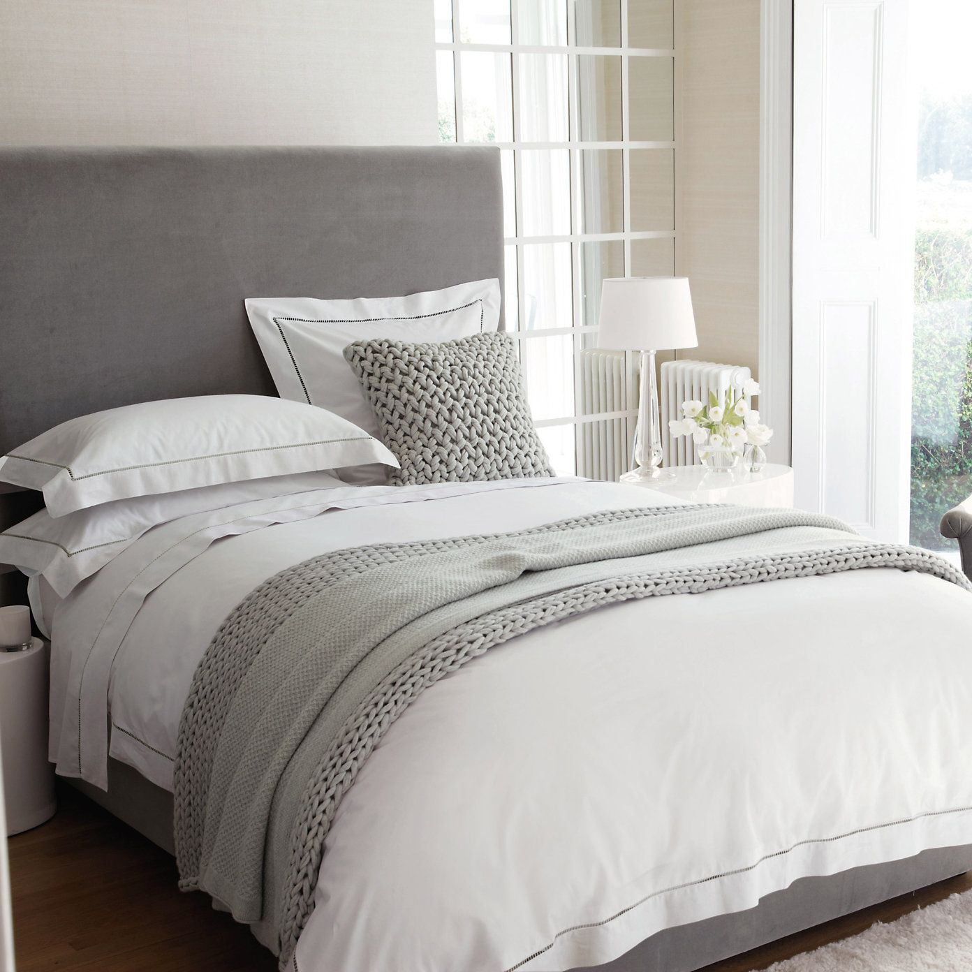Master bedroom bed  Buy Bedroom ue Bed Linen ue Santorini Bed Linen Collection from The
