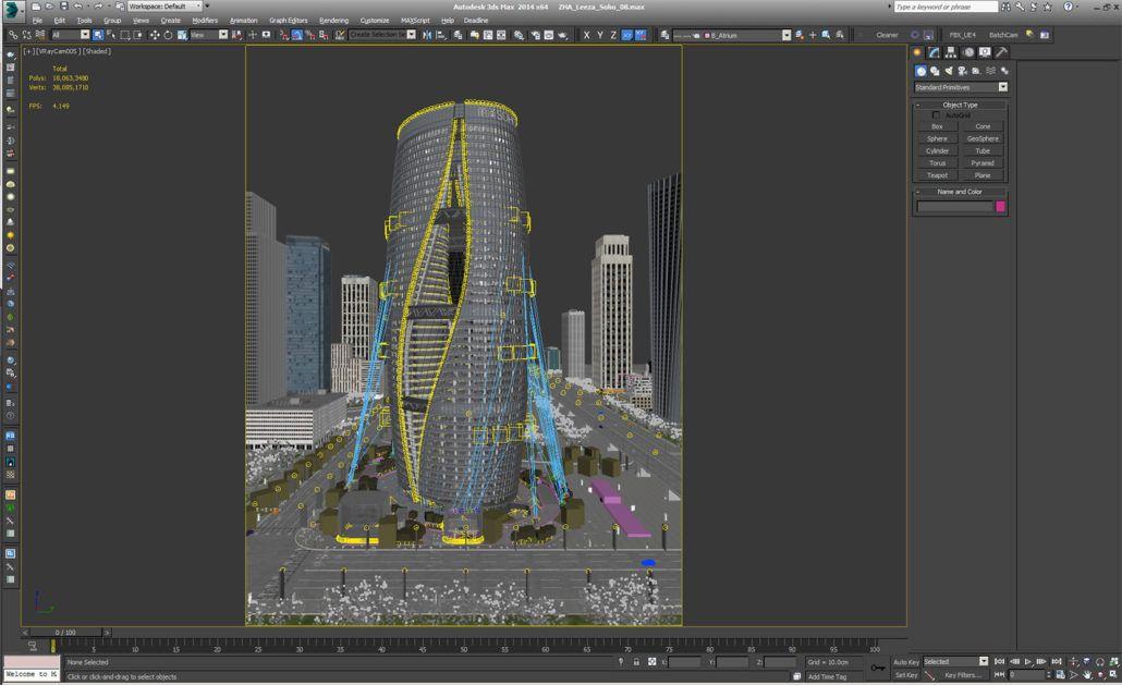 Making Of Zha S Leeza Soho 3d Architectural