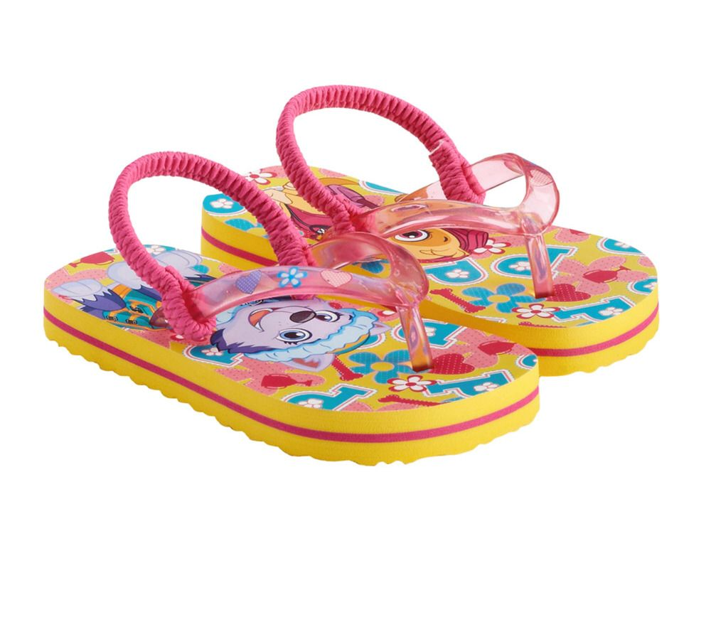 8cdb025486025 Nickelodeon Girls Paw Patrol Skye   Everest Thong Flip Flops Size Large  9-10 NWT  Nickelodeon  FlipFlops