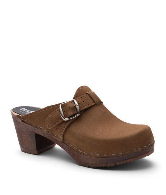 a8e5e0e30086e Swedish Clogs For Women Handmade in Sweden Shoes Dark Wooden Base ...