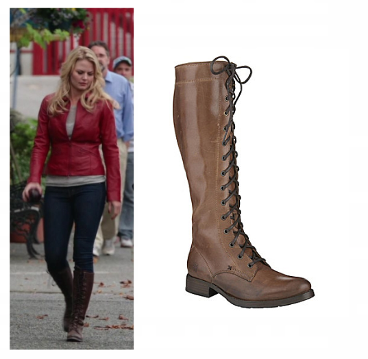 7dfcaf562e1 Frye Melissa Tall Lace Boots as seen on Emma Swan in various season ...