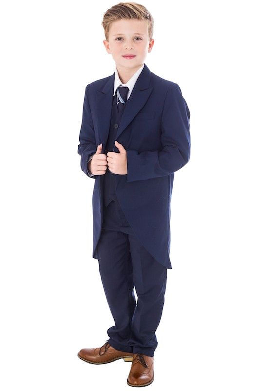 Boys Wedding Outfits Boys Navy Suit Navy Suits Wedding Suit Tail Suits