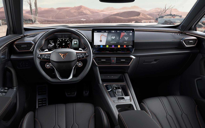 Cupra Formentor Vz5 2022 In 2021 Sport Utility Vehicle Four Wheel Drive Car Interior