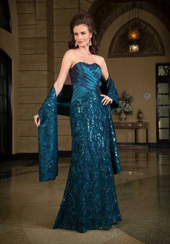 Jade Couture Green Mother Of The Bride Dress