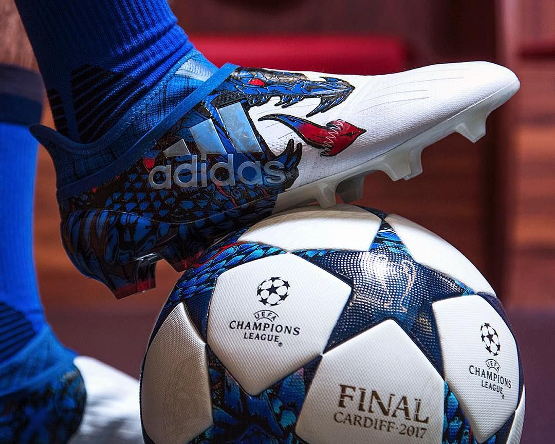 "4,680 Likes, 9 Comments - FOOTY.COM (Soccer) (@footydotcom) on Instagram: ""@adidasfootball reveal the new Dragon Pack boot range - inspired by the Champions League Final in…"""