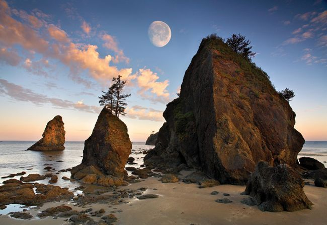 Superbe Ruby Beach, Olympic Pennisula, Washington State. Repin. Because Iu0027ve Been