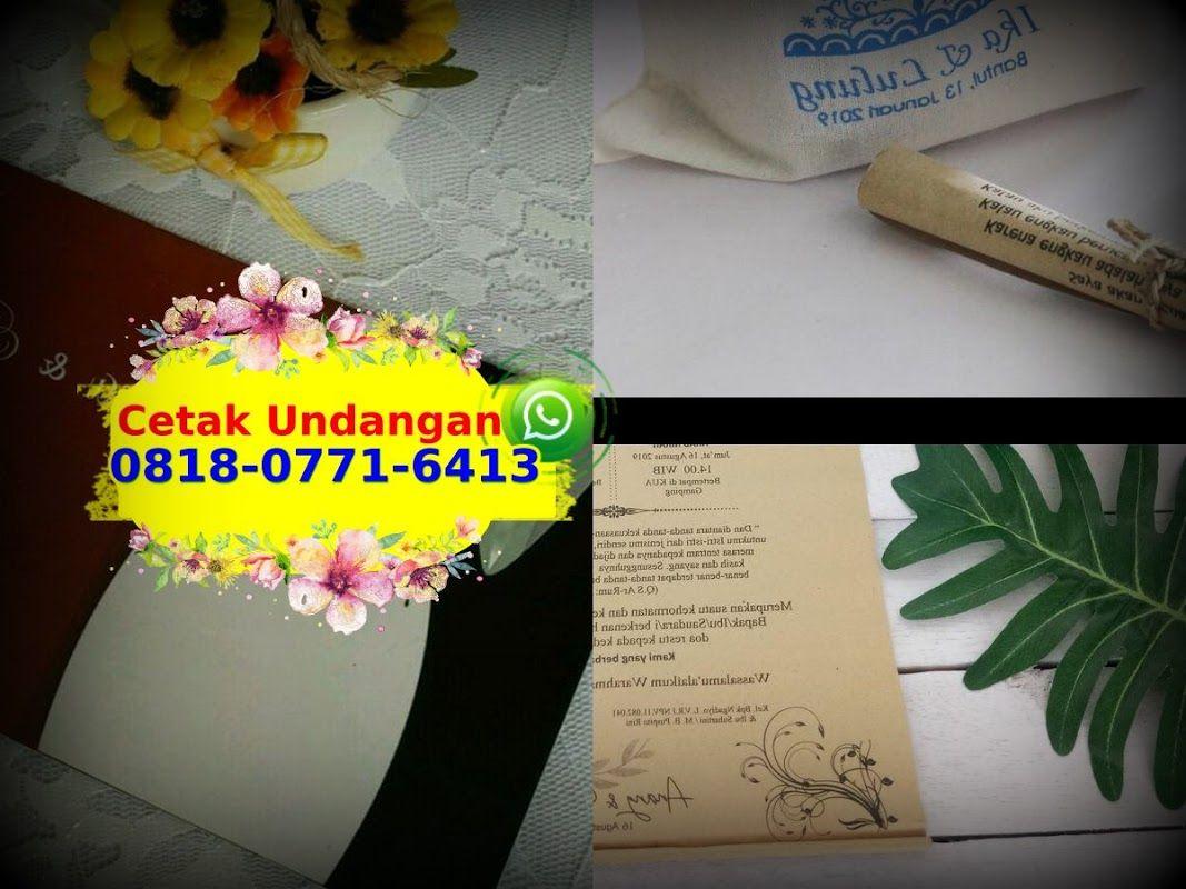 Cetak Undangan Pernikahan Full Color Ô818.Ô771.6413 [WA