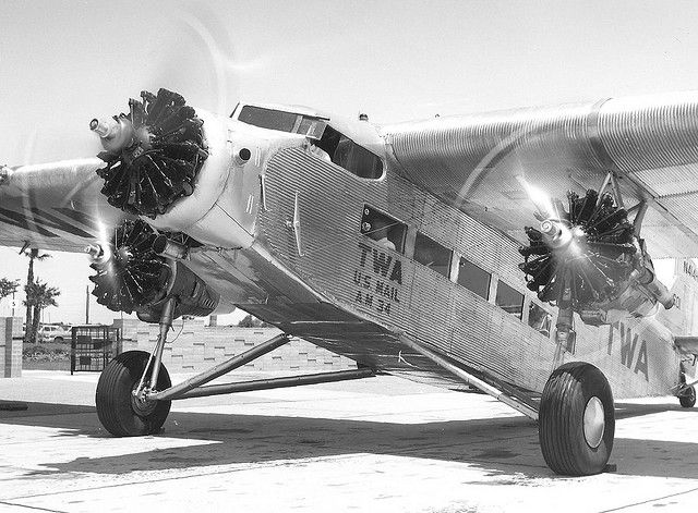 Ford414 Tri Motor. The featured plane in Indiana Jones and the Temple of Doom