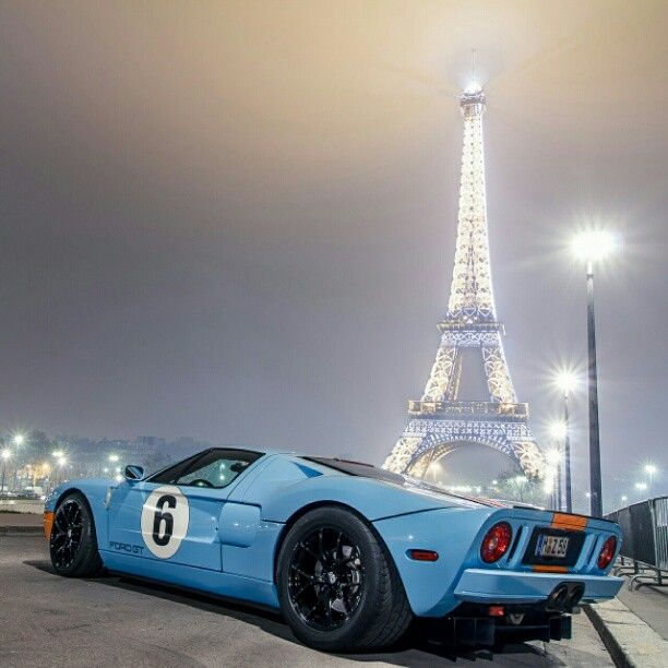 Ford Gt40 Vs Paris Ford Gt Ford Gt40 Super Cars
