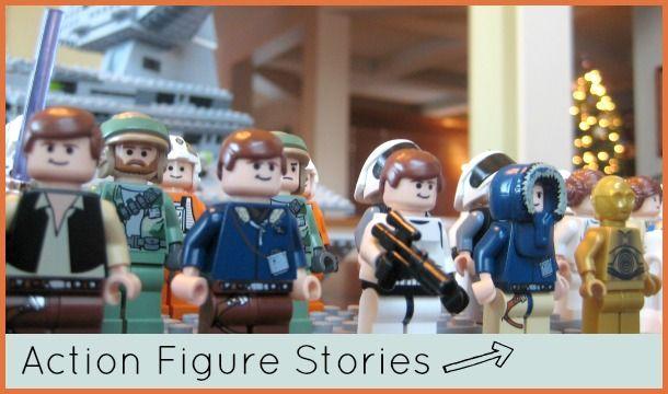 Action Figure Stories - Home Literacy Blueprint #actionfigure