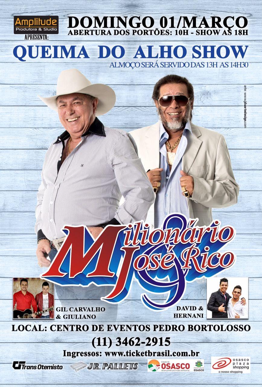 Show de Milionário e José Rico em Osasco