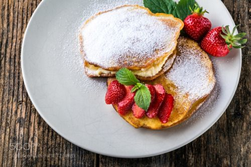 filled with homemade pancakes with strawberries by AdrianMiiak  IFTTT 500px