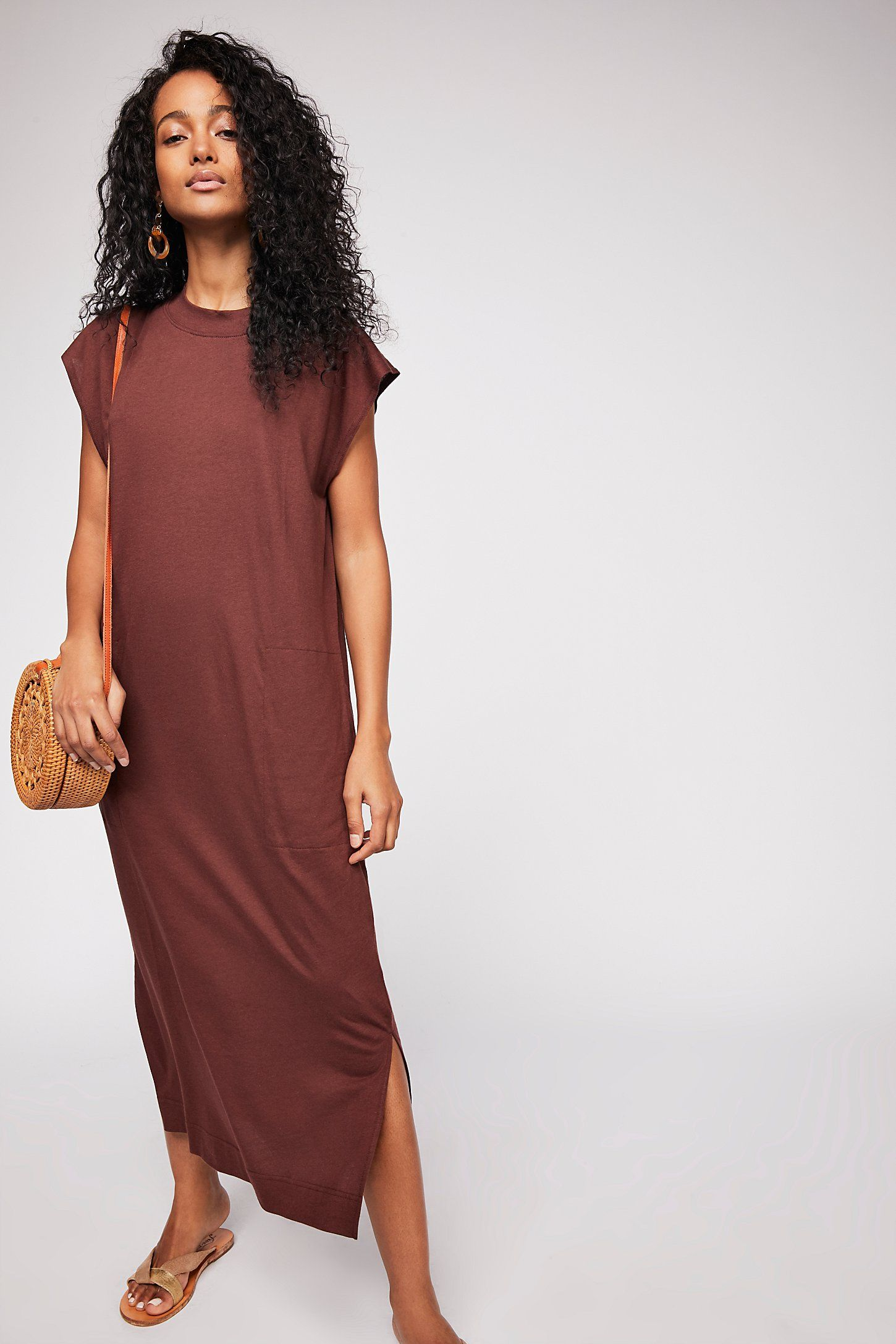 All day long midi tshirt dress in dresses pinterest