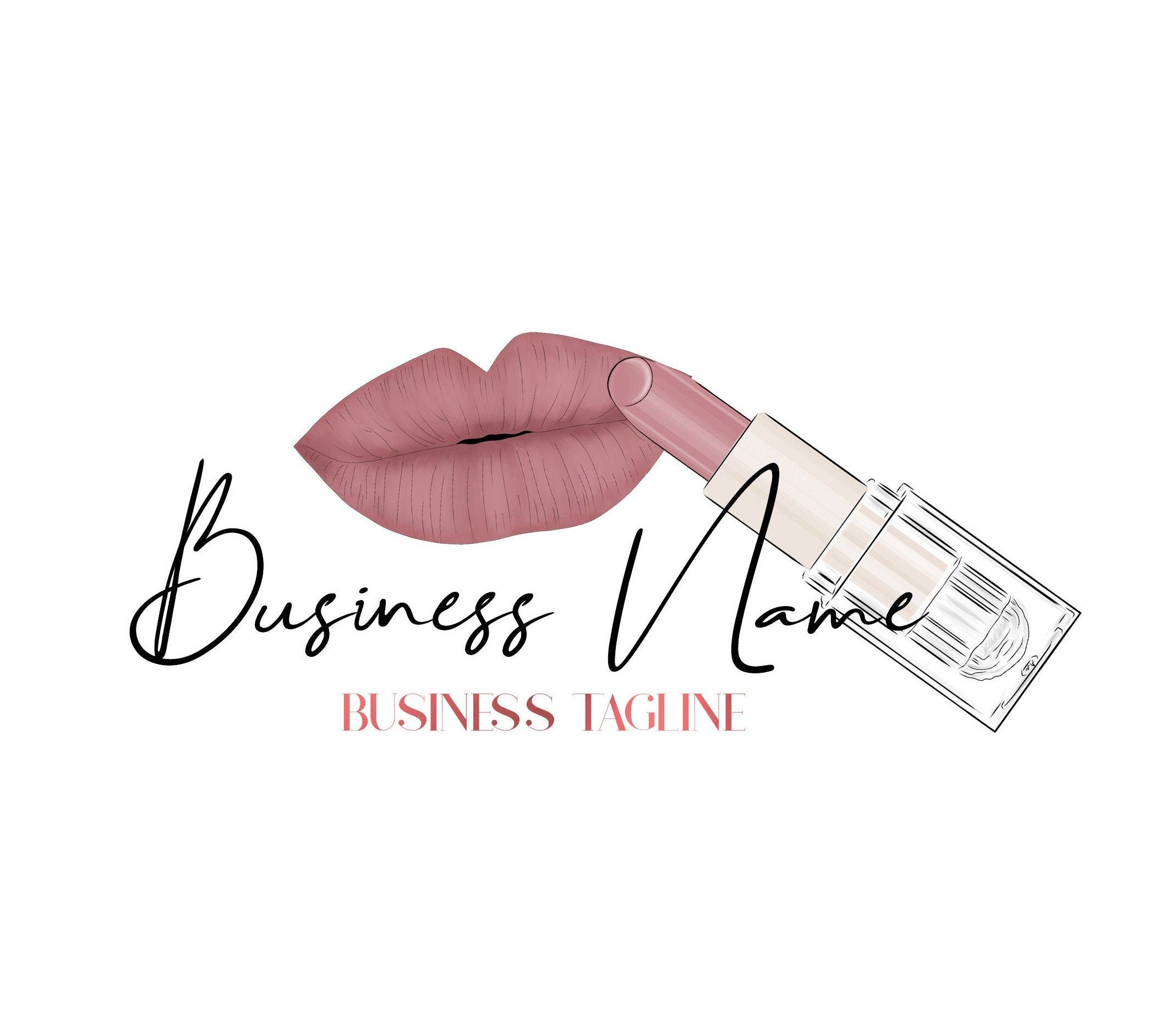 Makeup Artist Logo, Beauty Logo, Cosmetics Logo, Makeup