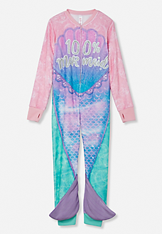 f002ab694d1d 100% Mermaid Onesie Kids Clothing Brands, Tween Clothing, Junior Clothing  Stores, Justice