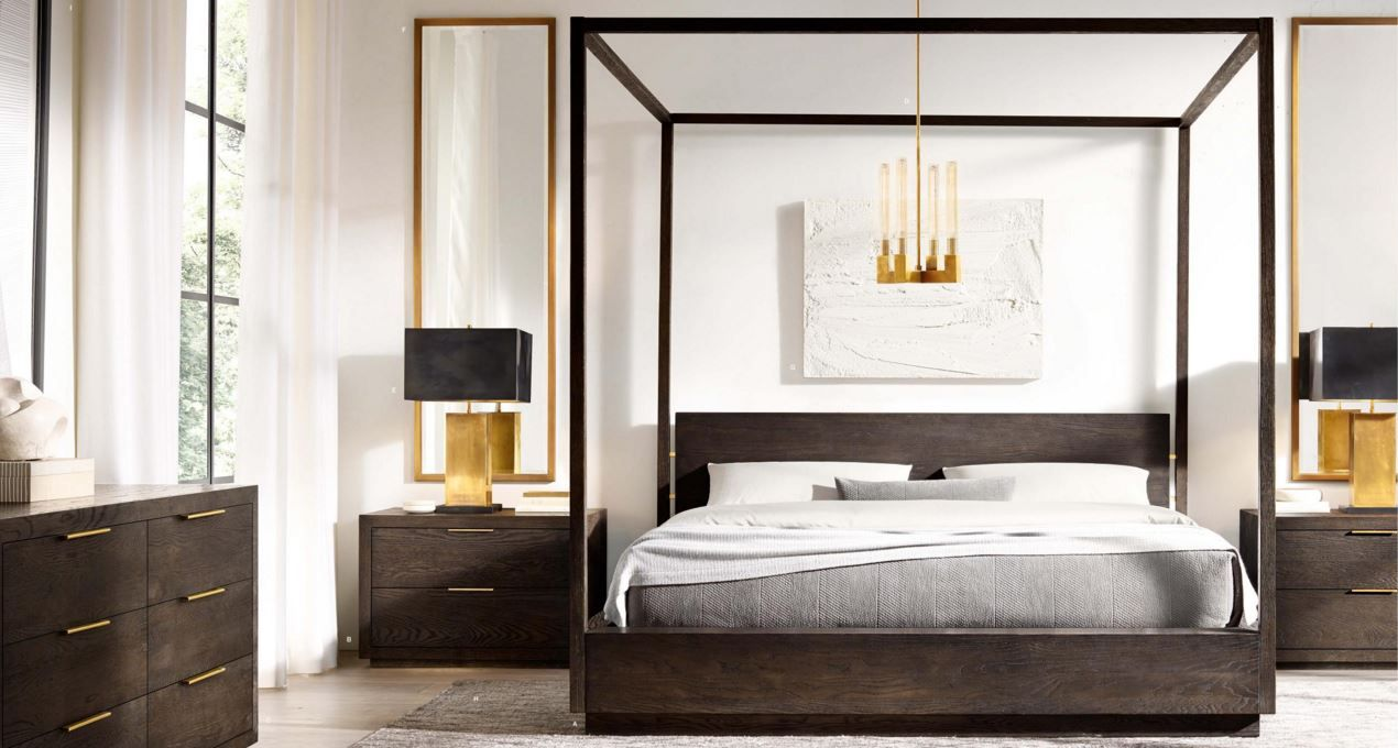 Restoration hardware bedroom - Restoration Hardware Bed