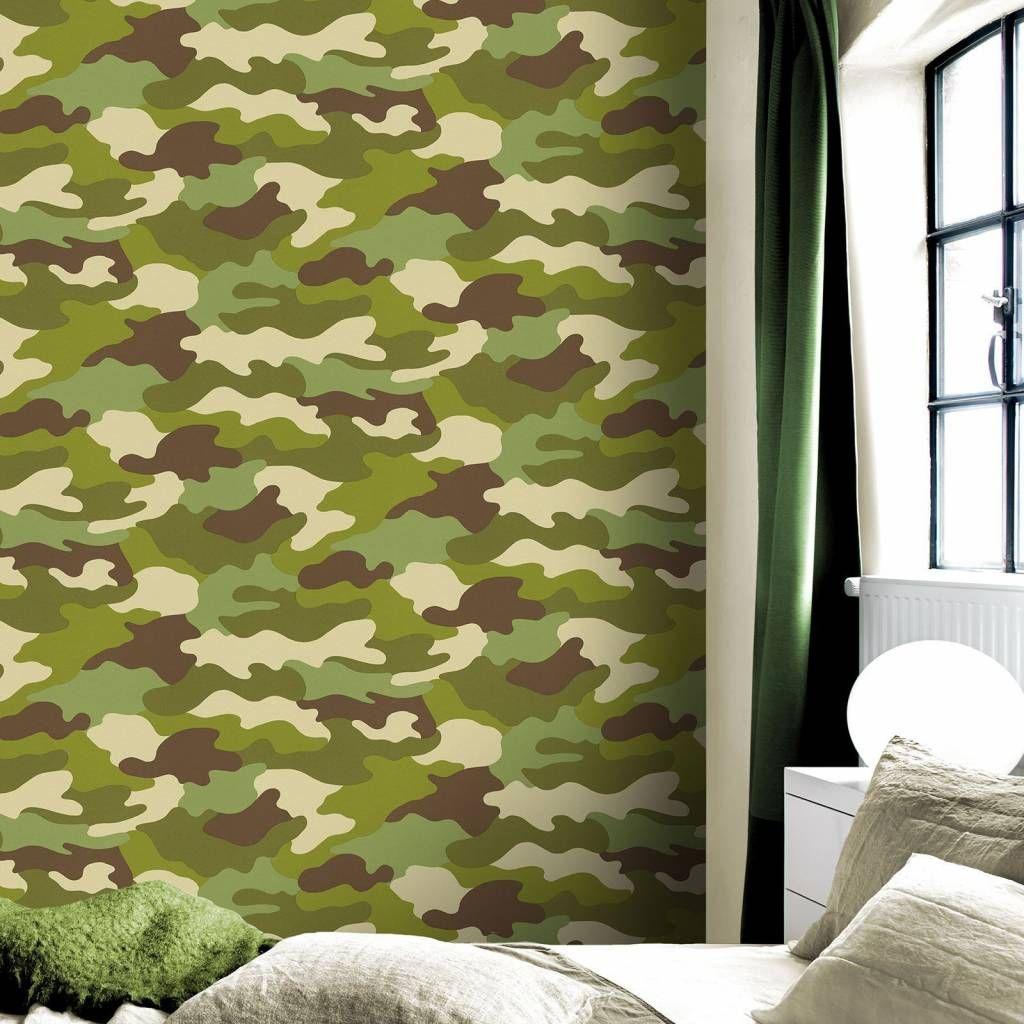 546897c0c51a4d0d9a2330e3bc601759 - Behang Camouflage