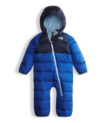 Infant Plushee Pants Baby North Face Down Suit Snow