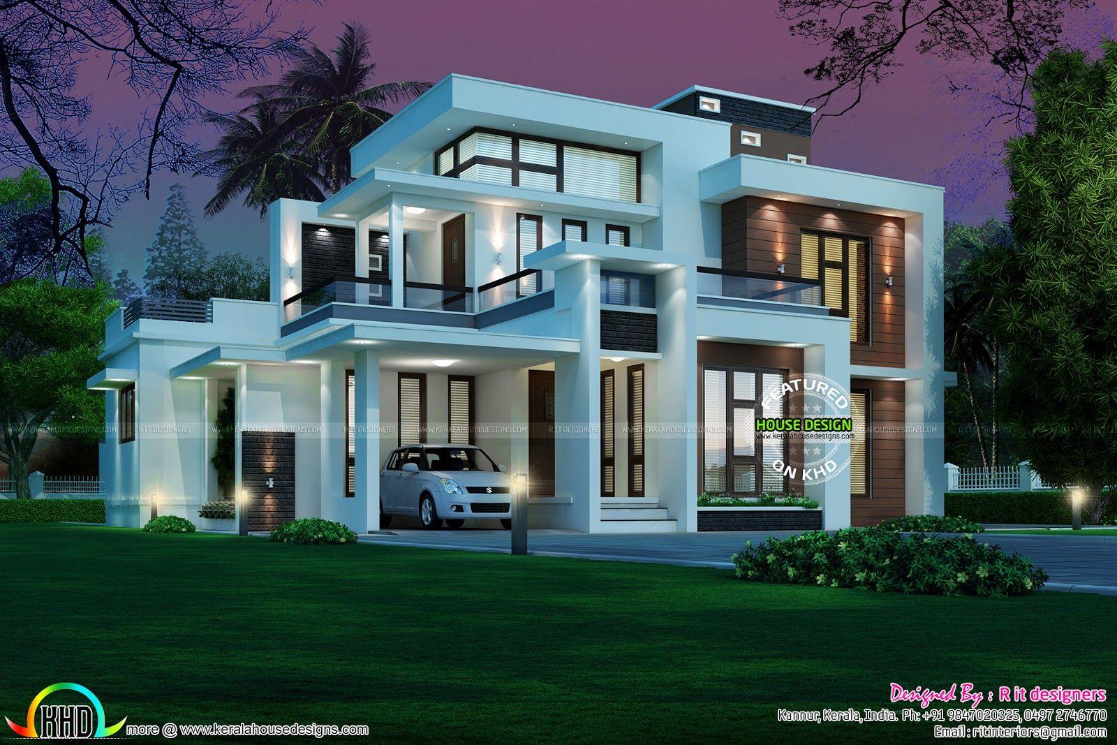 R It Designers (home Design In Kannur) Part - 37: Contemporary-box-type.jpg (1600×1067)