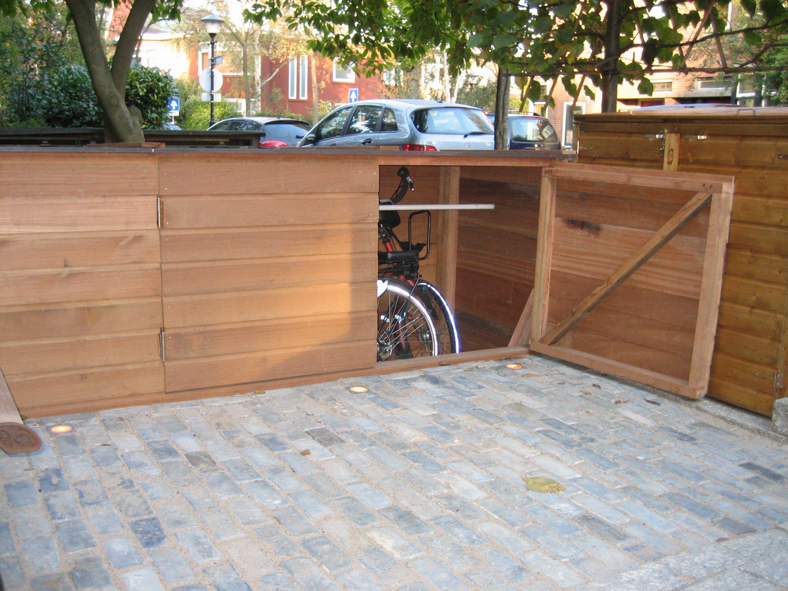 Bedwelming fietsenhok in voortuin - Google zoeken | FIETSBOX - Fai da te #XD66