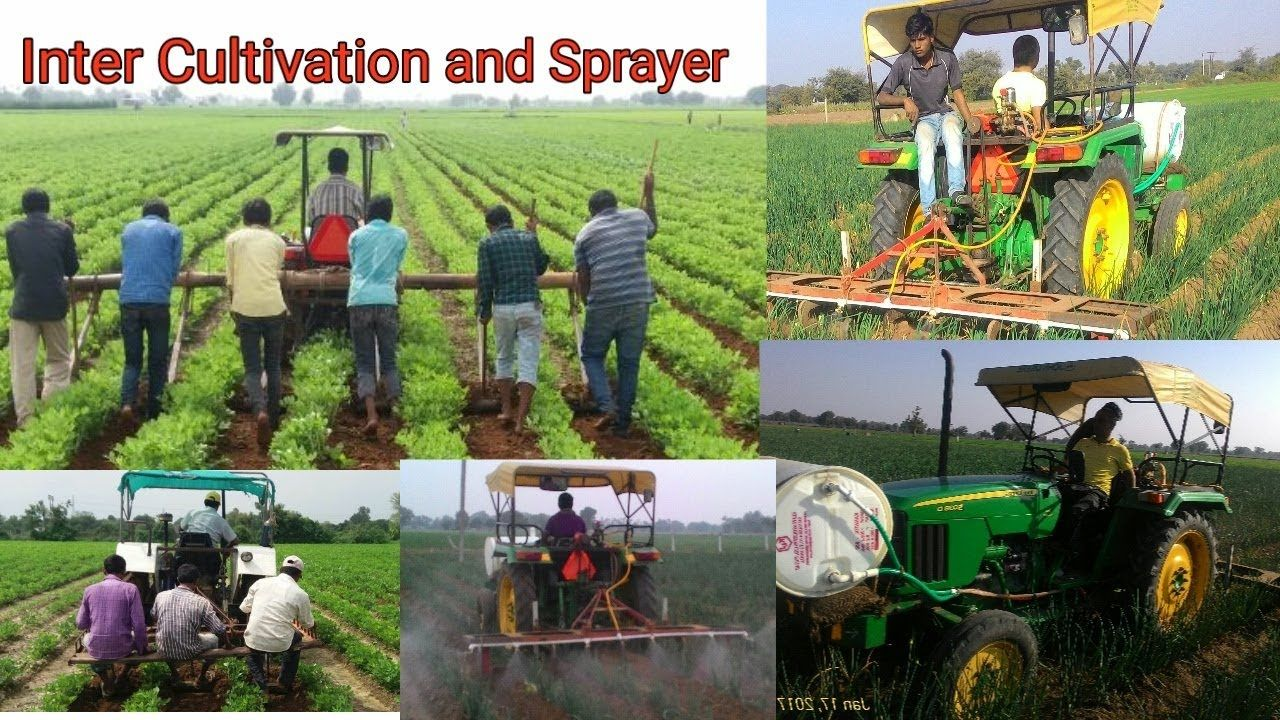 Tractor Mounted Spray, Inter Cultivation and Sprayer