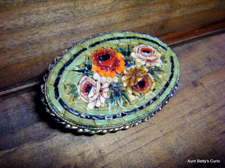 1930s Venetian Glass Mosaic Bracelet Mint Condition