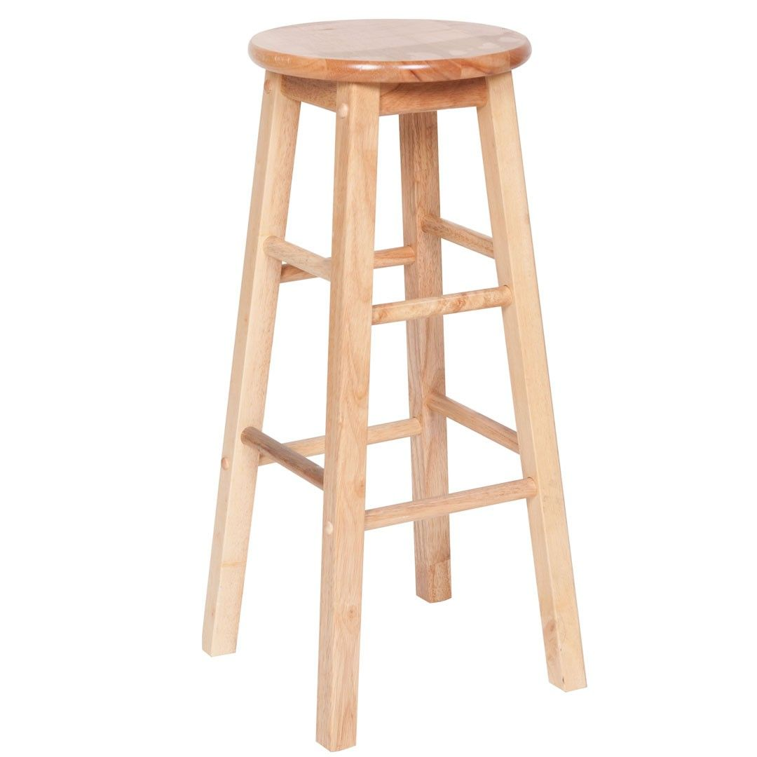 Standard bar stool from menards for 20 http www for Wooden bar design