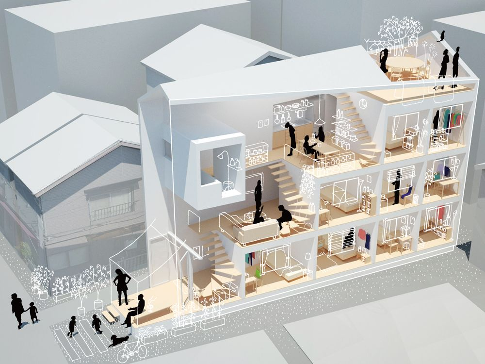 pin by satou on 第三課題 pinterest architecture models and arch