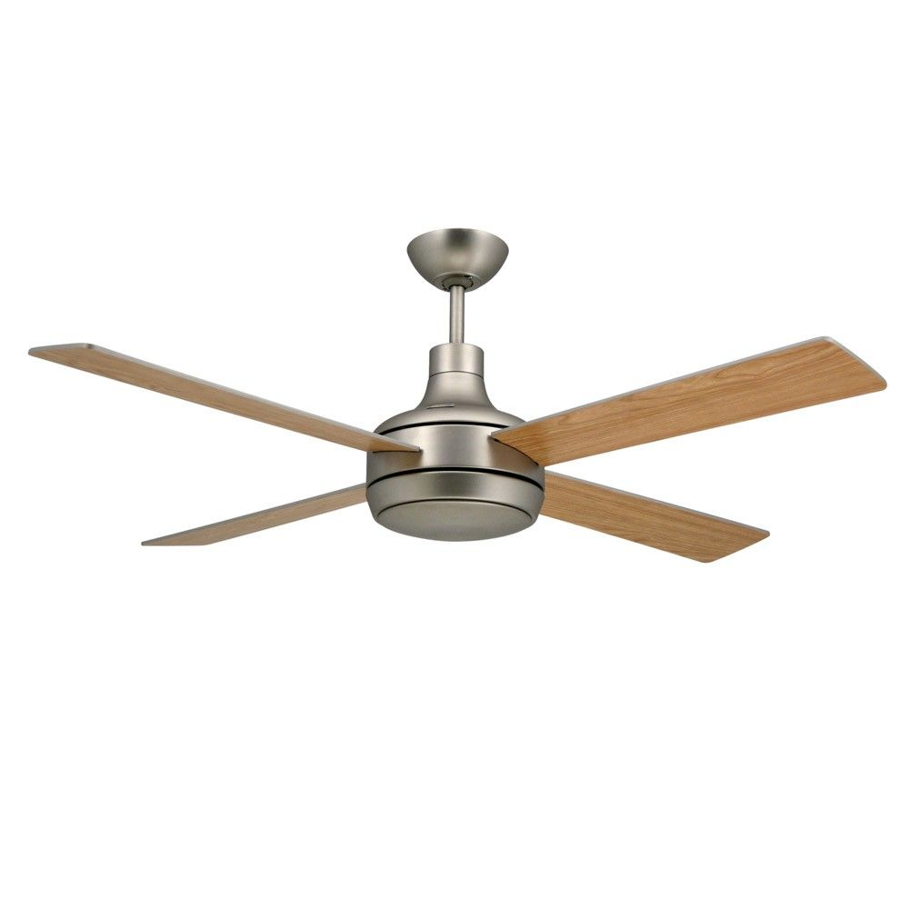 Quantum Modern Ceiling Fans With Light High Performance Motor Satin ...