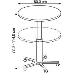 Photo of Round bar tables