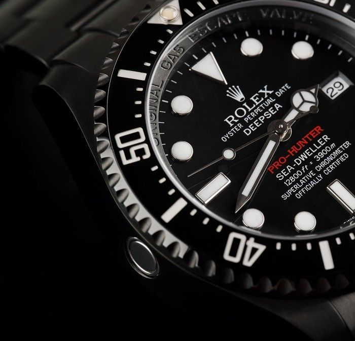 Rolex Deepsea Pro Hunter Jacques Piccard Edition Rolex