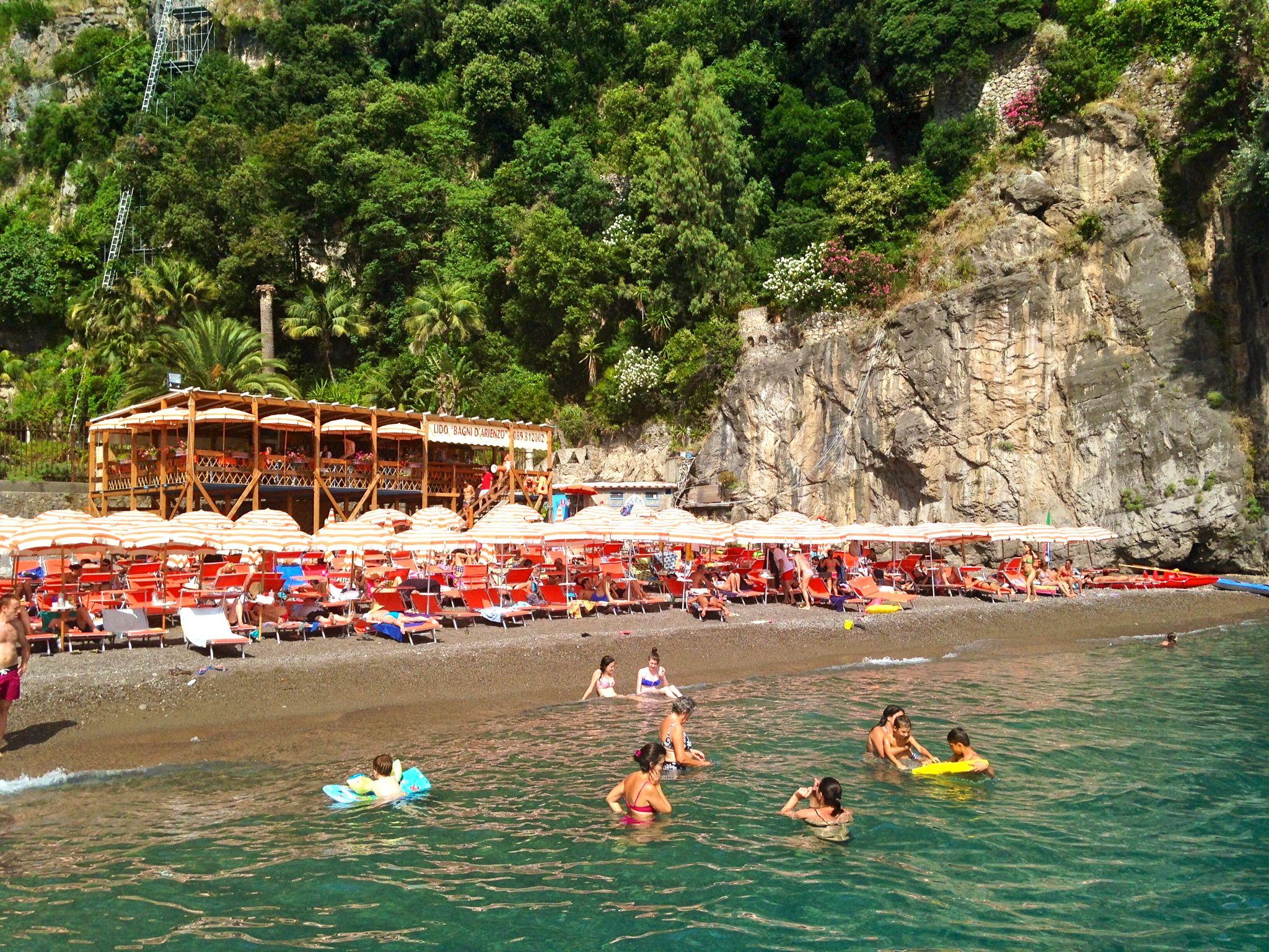 Bagni d\'Arienzo | Positano | Pinterest | Positano, Beach club and ...