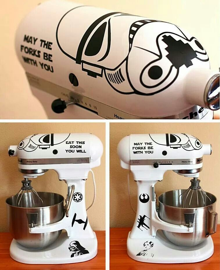 I need this for my kitchenaid with images star wars