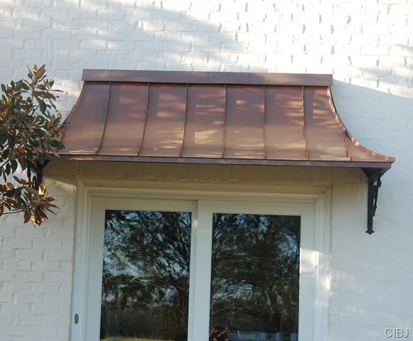 Wanting To Install A Bronze/copper Roof Over The Front Bay Window.