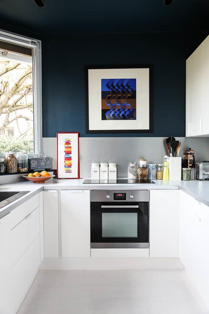 Marine Garnier And Bertrand Jeanne 7 Maud 6 Years Old Home Kitchens Kitchen Design Kitchen Living