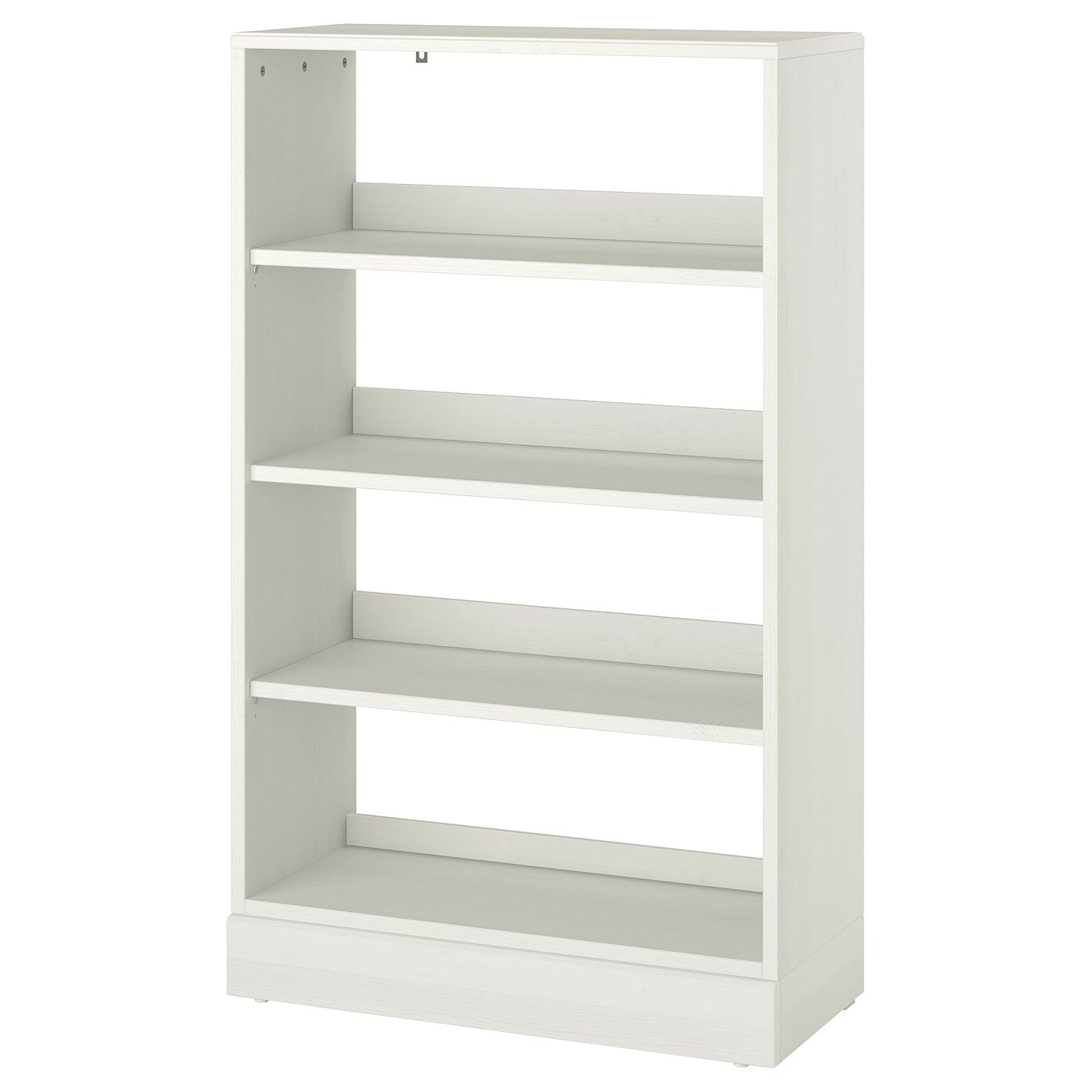 Ikea Havsta Shelving Unit With Base White Made Of Wood From Sustainable Sources Solid Pine With Crafted Details And A Brushed In 2020 Shelving Unit Shelving Ikea
