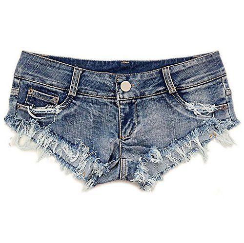 677bb3aac080 NW Women's Low Waist Sexy Denim Short Hot Pants Sexy Mini Jeans Shorts # shorts #jeans #denim #pants