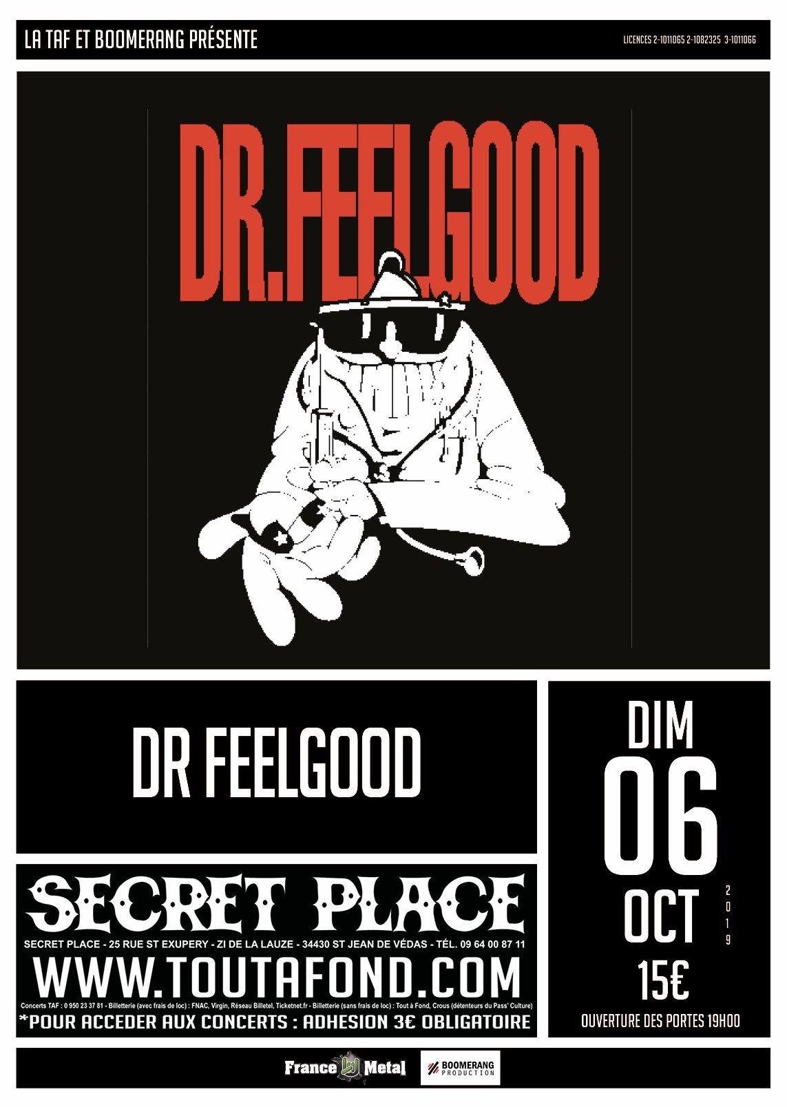 DR FEELGOOD [Uk] + BORING GIRLS [Fra] à SaintJeande