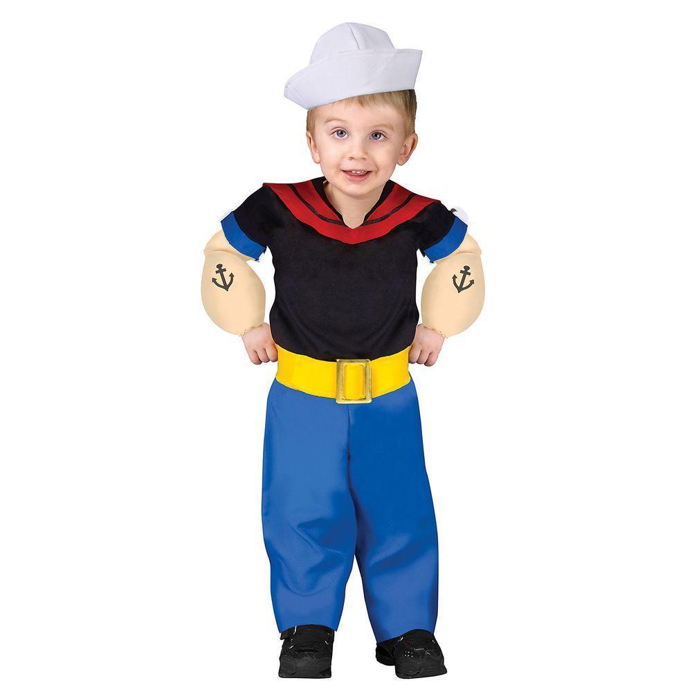 Costume di carnevale uomo adulto Bluto di Braccio di Ferro ...  |Popeye Zombie Costumes