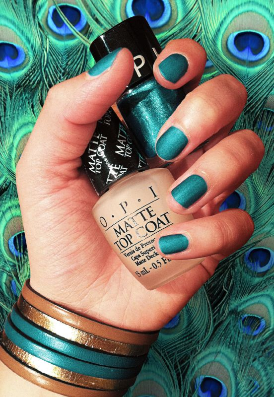 peacock nails sephora color
