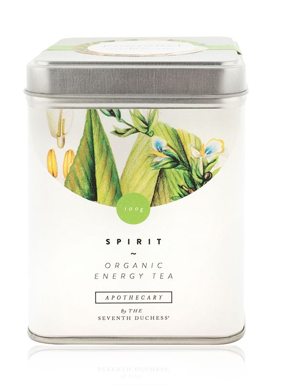 SPIRIT - ORGANIC ENERGY TEA An organic, healthy energy drink, revitalises and uplifts the mind and body THE SEVENTH DUCHESS
