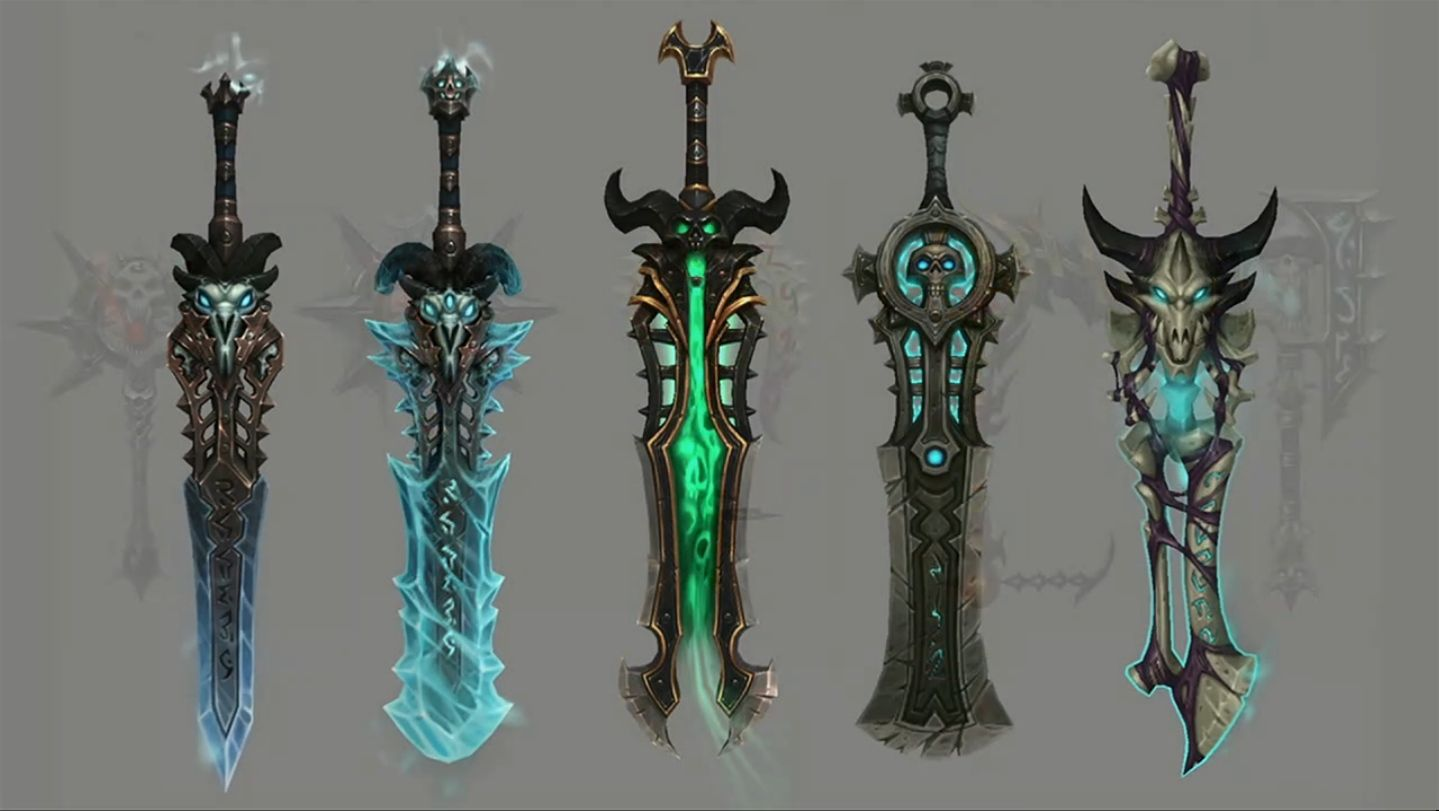 Mmo Champion Frost Dk Artifact Weapon For Legion Blizzard