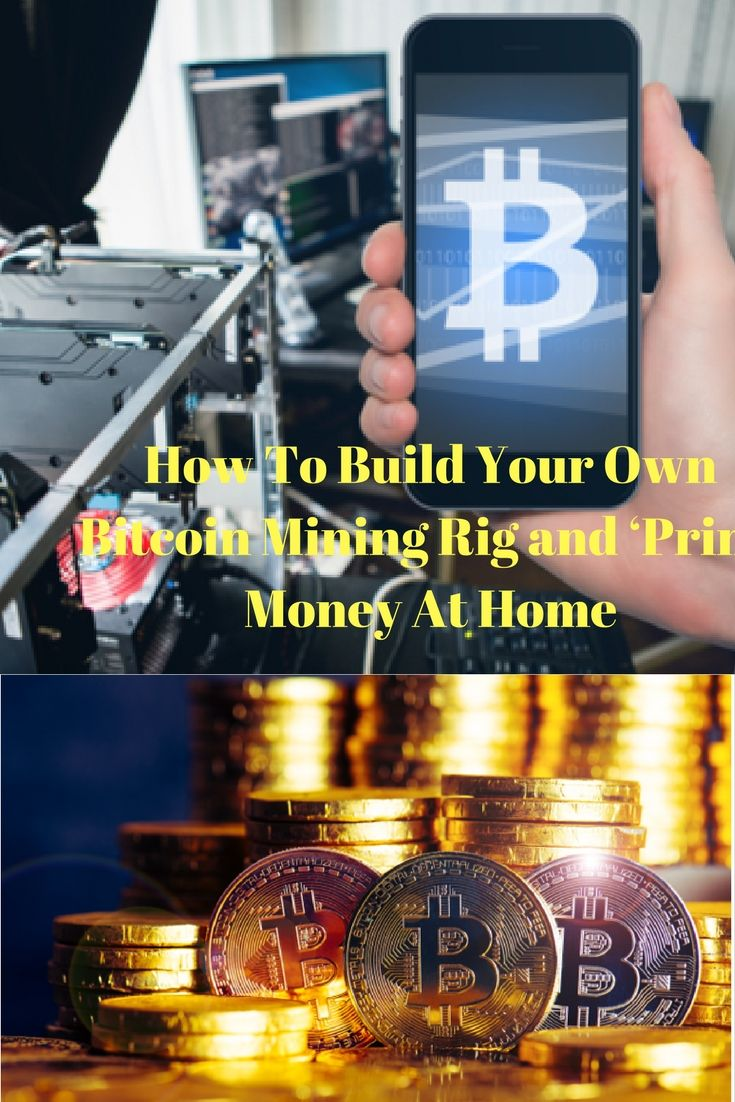 How to build your own bitcoin mining rig and print money at how to mine bitcoin from home building your own bitcoin mining rig checklist of bitcoin mining equipment and tips for mining ccuart Choice Image