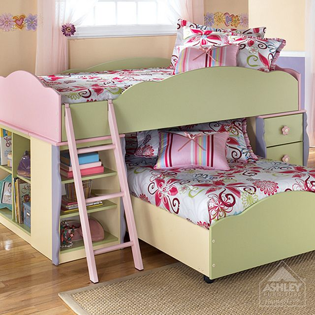 Ashley Furniture Homestore Doll House Loft Bed Mebel Dom Mechty Dom