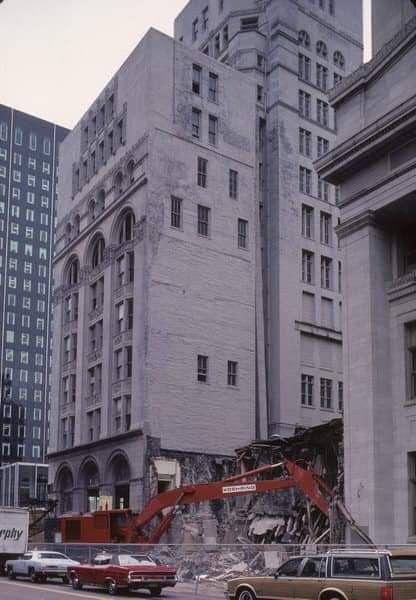 The Pabst building demolition. Via Eddie Adams | Milwaukee ...