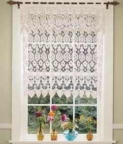 ideas para de fotos de cortinas de cocina modernas bordado