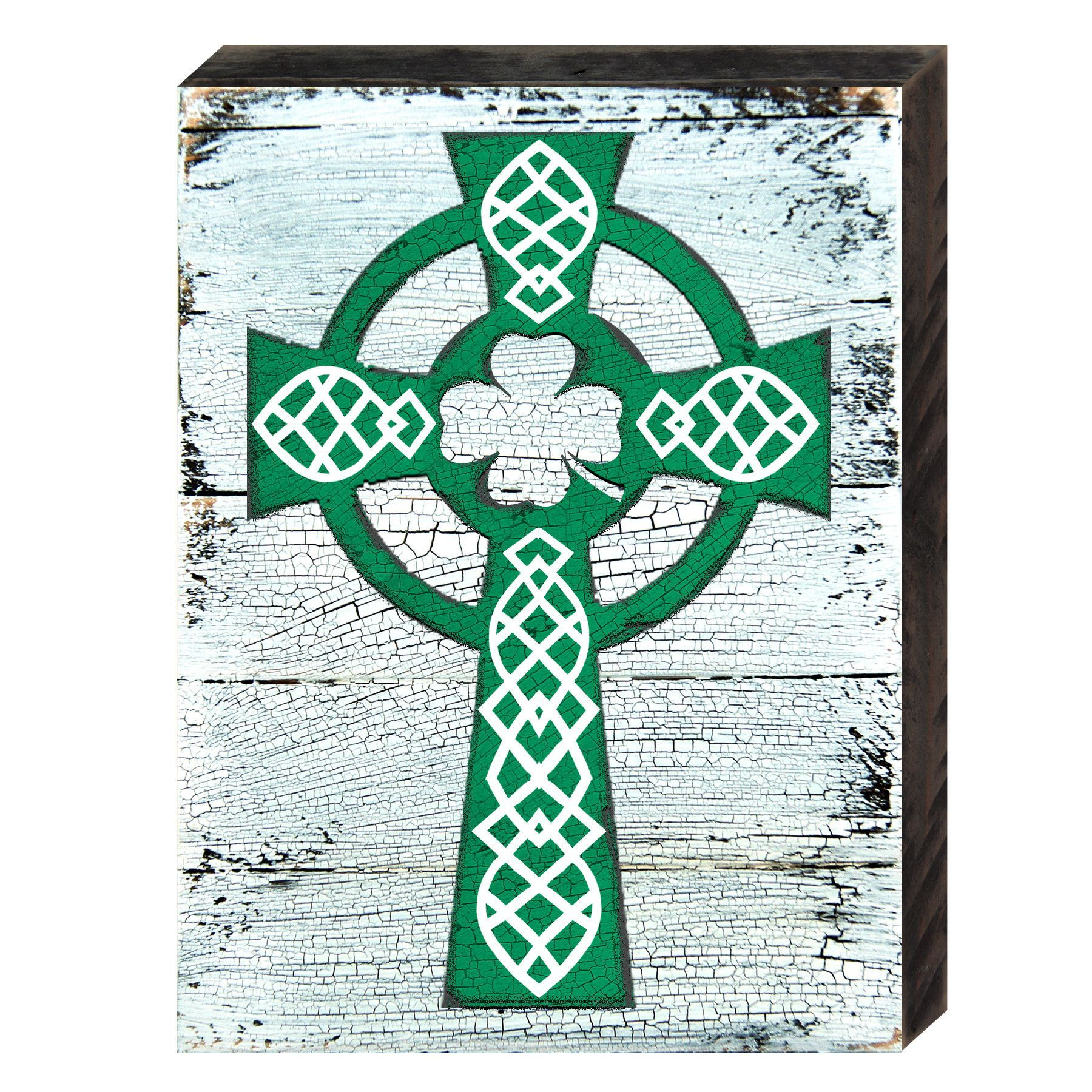 Celtic Cross Saint Patrick\'s Wooden Wall Decor | Easy Woodworking ...