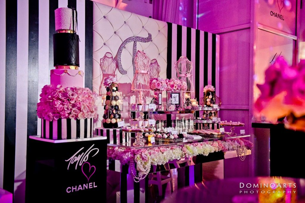 Birthday Party Ideas · Tayloru0027s #Chanel Themed Sweet 16 Extravaganza At The  Temple House Is On The #blog