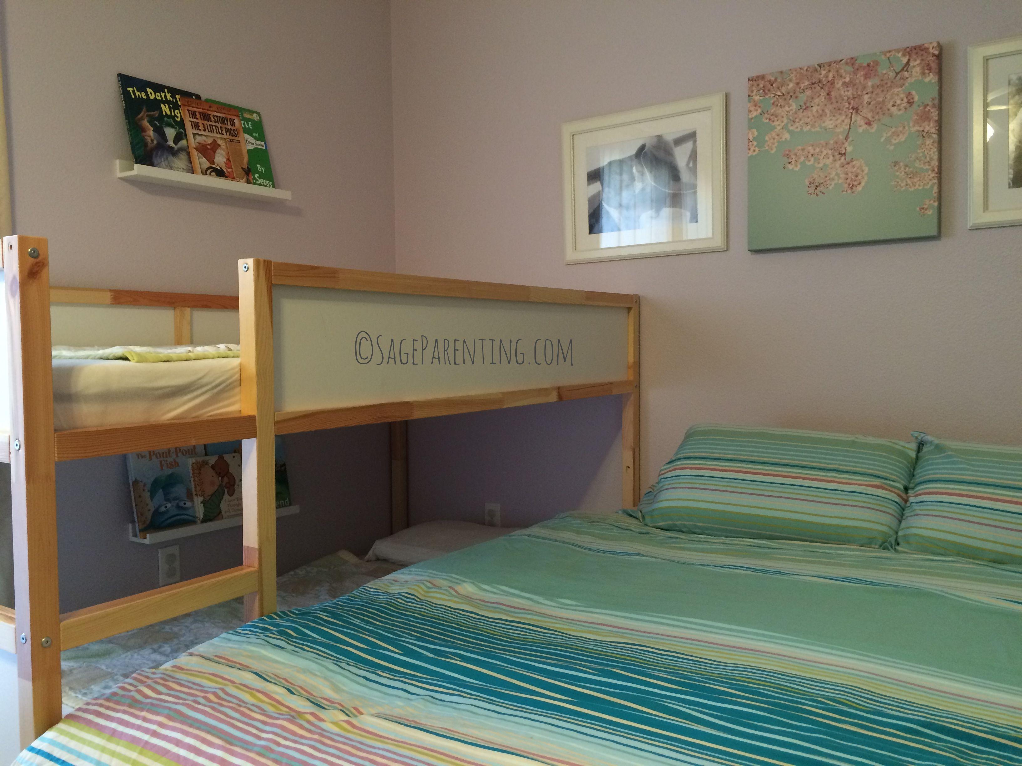Our Split Level Family Bed #Cosleeping | Cosleeping | Pinterest ...