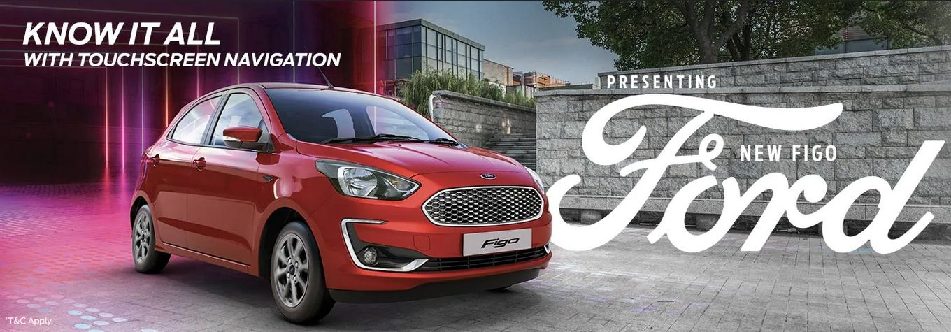 Ford Figo Car price starting at INR 5.23 Lakh in India